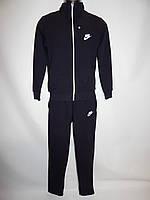 Спортивный костюм мужской Nike реплика весна темно-синий раз. M-XXL