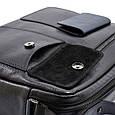 Мужской портфель–сумка Bond из натуральной кожи, фото 8