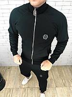 Спортивный костюм Philipp Plein D3313 черный, фото 1