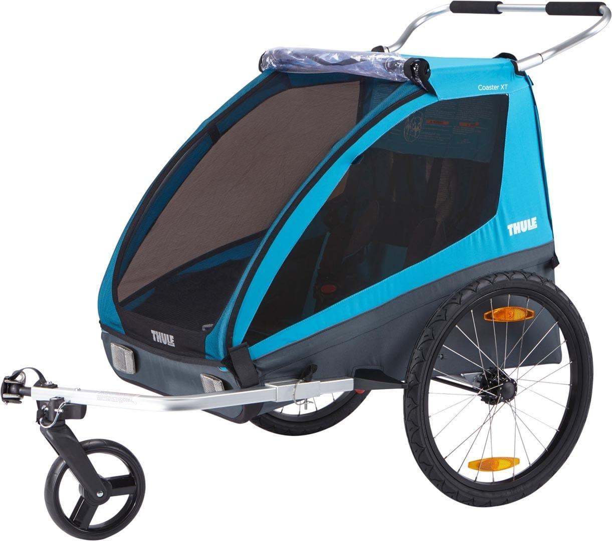 Дитяча коляска-причіп для велосипеда Thule Coaster XT (Blue)