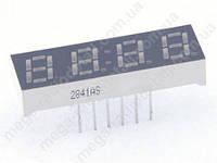 Светодиодн. индикатор 4 разряда YY2841AS кр,ОК
