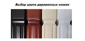 Кровать Джоконда 140*190 деревянные ножки (Металл дизайн), фото 2