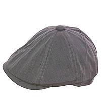 Кепка восмиклинка V15002 светло-серый