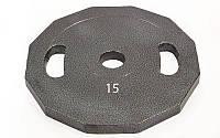 Блины (диски) стальные с хватом окрашенные d-52мм UR Newt NT-5221-15