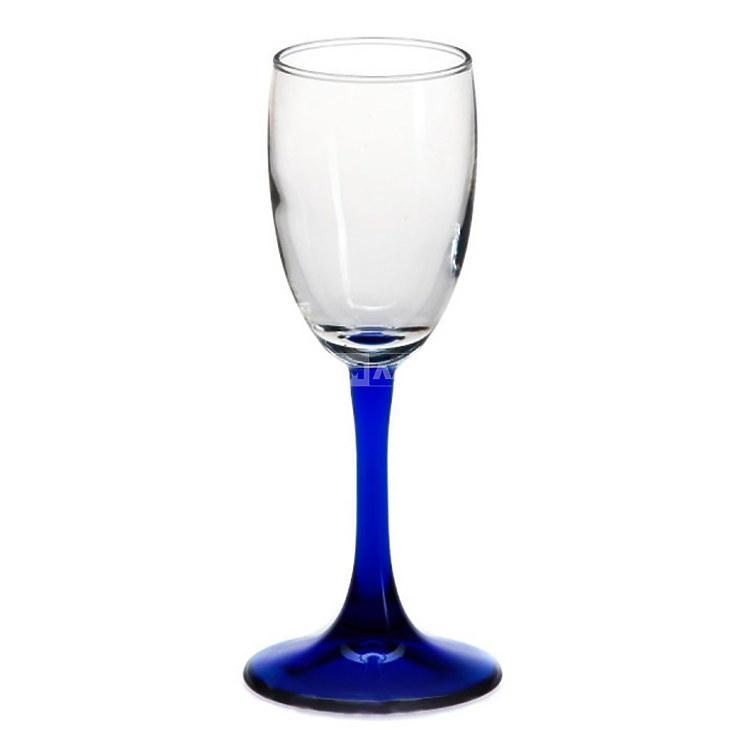 Рюмки Pasabahce Imperial blue 440043 (4 предмета)