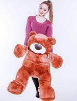"""Великий ведмідь сидячий """"Бублик"""" 110 див.(коричневий)"""