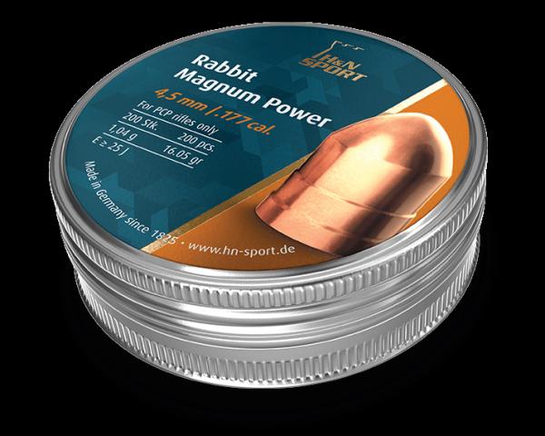 Пули пневматические H&N Rabbit Magnum Power 1,04 гр (200 шт)