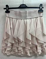 Юбка Sisley короткая розовая