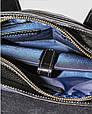 Мужская сумка из натуральной кожи VATTO Mk28.3 F8Kaz1, компактная, черный, фото 10
