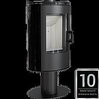 Печь-камин Kratki Koza AB S/N/O кафель черный для дома