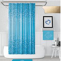 Шторка в ванную Blue Mosaic