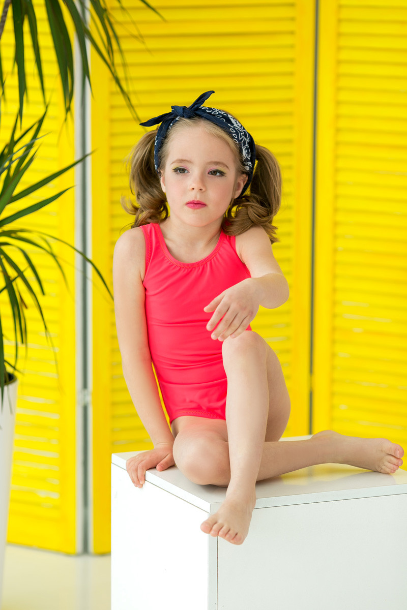 Купальник детский сдельный, спортивный