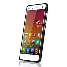 Чехол бампер Arc Edges металл для Xiaomi Mi4 черный