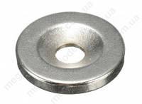 Магнит неодимовый 18 мм х 4 мм отв. 5мм(шайба)