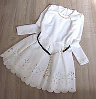 Детское нарядное платье р. 128-146 Никки-2