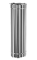 Труба дымохода Ф100 0,5м AiSi304 ≠0,5мм