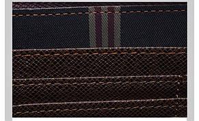 Мужской стильный портмоне клатч  PIDANLU TOP коричневого цвета, фото 3