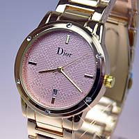Женские наручные часы Dior Gold календарь