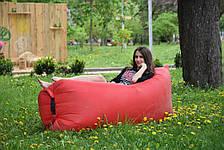 Самонадувной диван Lamzac Hangout (Кресло Матрас Ламзак Хенгаут Красный), фото 3