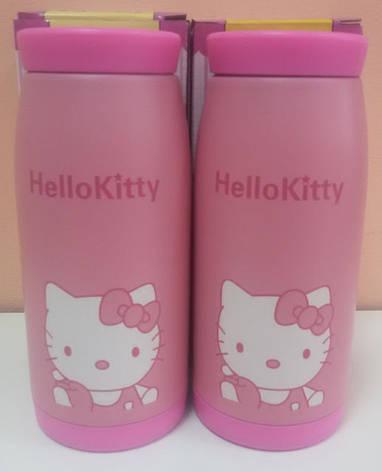 Термокружка детская Hello Kitti (Хелоу Китти) 350 мл, фото 2