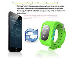 Детские умные часы телефон Smart Baby Watch Q50 с аудиомониторингом (приложение IWatch+), фото 2
