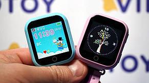 Детские умные GPS часы телефон трекер Smart Baby Watch Q750 c сенсорным экраном, Wi-Fi и играми (розовые), фото 2