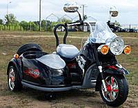 Детский электромобиль мотоцикл МТ10 с коляской