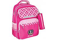 """Рюкзак шкільний 16,5"""" Prestige Royal pink 86141"""
