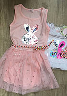 Платье для девочек S&D оптом, 1-5 лет.