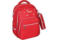 """Рюкзак шкільний 16.5"""" college red 86150"""