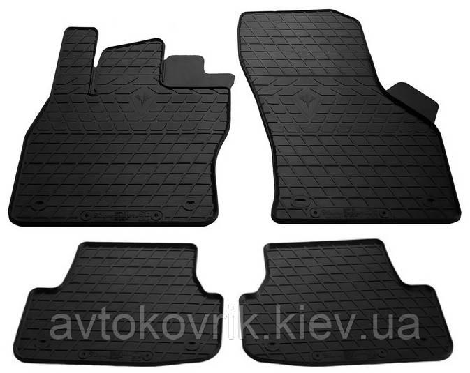 Резиновые коврики в салон Seat Leon III (5F) 2012- (STINGRAY)