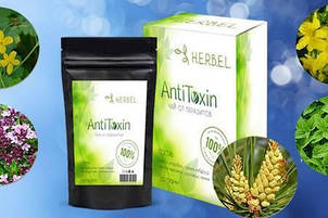 Herbel AntiToxin - чай от паразитов (Хербел Антитоксин) 50 гр, фото 2