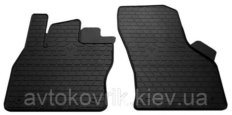 Резиновые передние коврики в салон Volkswagen Golf VII 2013- (STINGRAY)