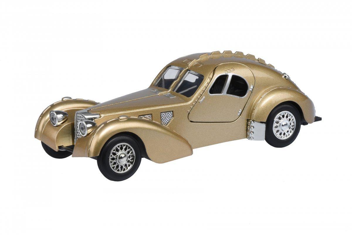Автомобиль 1:28 Same Toy Vintage Car Золотой HY62-2AUt-6