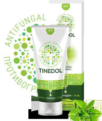 Tinedol - крем для лечения и профилактики грибка ногтей (Тинедол), 75 мл, фото 2