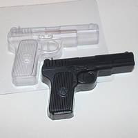 Форма пластиковая для мыла Пистолет