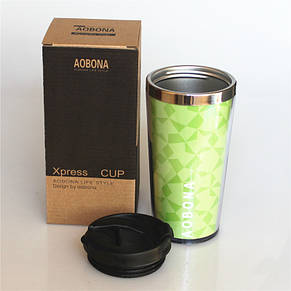 Термокружка тамблер New Version 1 - 480 мл зеленый, фото 3