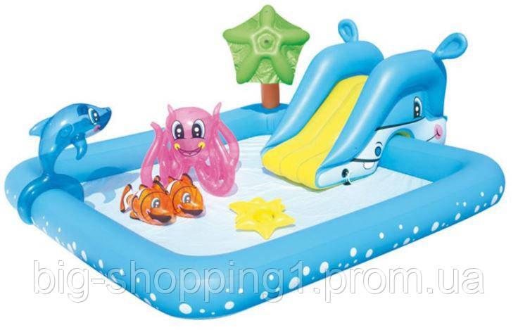 Басейн для дітей BESTWAY 239 x 206 x 86 см