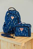 Рюкзак-органайзер + сумка для мамы Sunveno 2в1 Синяя
