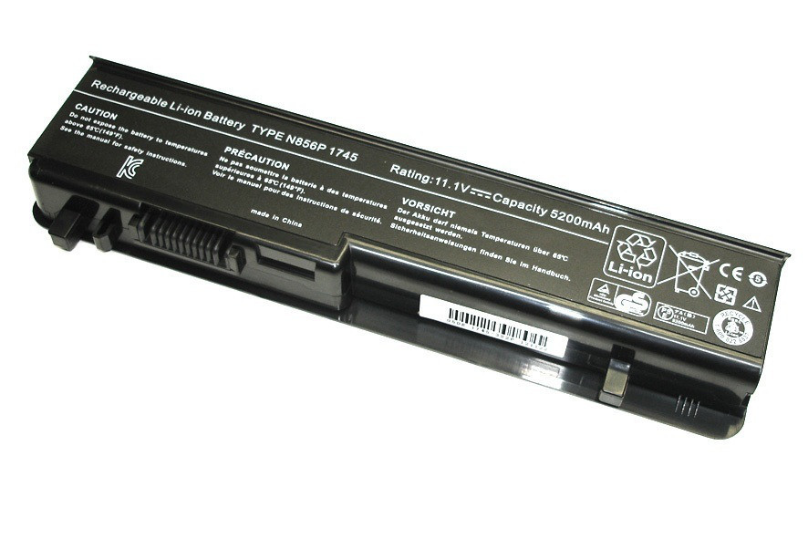 Батарея (аккумулятор) Dell Studio 1747 (11.1V 5200mAh)