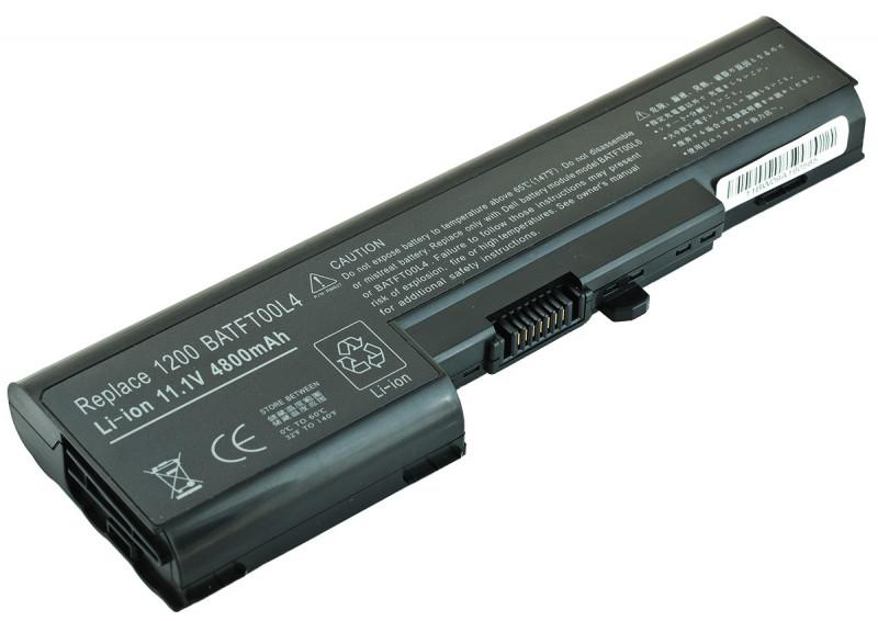 Батарея (аккумулятор) Dell Vostro 1200 (11.1V 4800mAh)