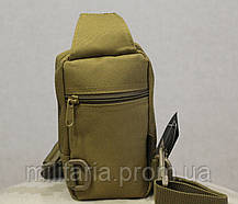 Сумочка - борсетка для карточек и телефона скрытого ношения (плечевая) Coyote (9119-coyote), фото 2