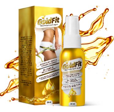Goldfit - спрей средство для моделирования фигуры (ГолдФит), 30 мл, фото 2