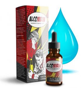 Alcovirin - капли от алкоголизма (Алковирин), 30 мл