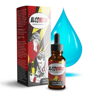 Alcovirin - капли от алкоголизма (Алковирин), 30 мл, фото 2