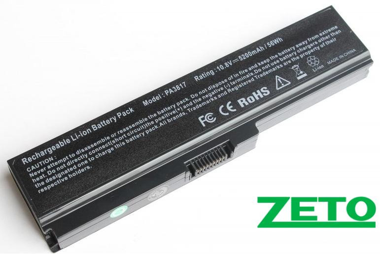 Батарея (аккумулятор) TOSHIBA PA3635U-1BRM (10.8V 5200mAh)