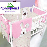 Набор детский с аппликацией м.710 (арт.детский набор с аппликацией м.710) - Розовый