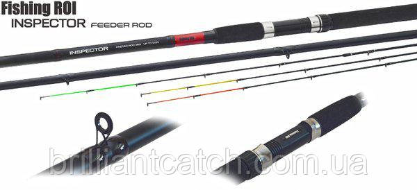 Фидер Fishing Roi Inspector Feeder 3.90м до150гр 3+3