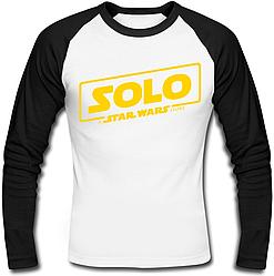 Футболка с длинным рукавом Solo: A Star Wars Story - Logo Yellow