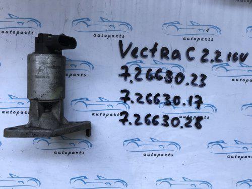 Клапан EGR опель Вектра С, opel Vectra С 12569552, 72263023 2.2